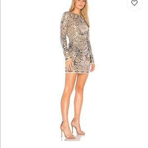 Endless Rose Sequin Dress from Revolve